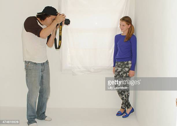 Photographer Michael Bezjian captures actress Delaney Raye at The SAP - The Starving Artists Project - Backstage on May 23, 2015 in Los Angeles,...