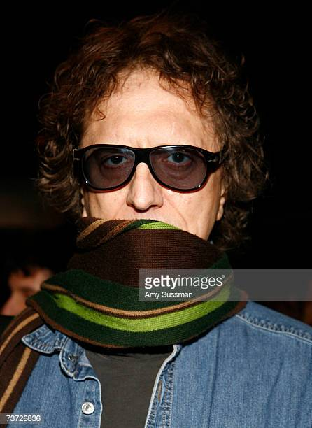 Photographer Mick Rock attends the Teletubbies Take Manhattan opening night party at the Pop Up Shop on March 27 2007 in New York City