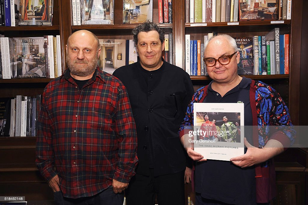 """Isaac Mizrahi Pictures: New York City 1989-2003"" Book Celebration"