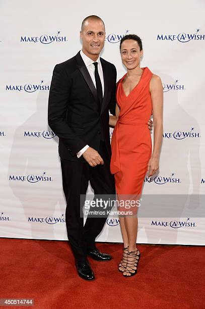 Photographer Nigel Barker and Cristen Barker attend the MakeAWish Metro New York Annual Gala An Evening of Wishes at Cipriani Wall Street on June 12...