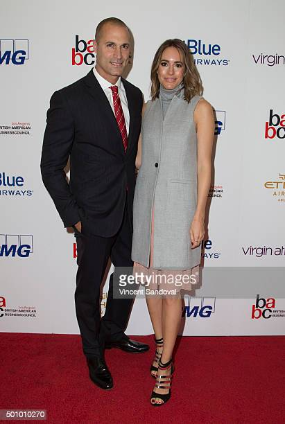 Photographer Nigel Barker and fashion journalist Louise Roe attend the BABC LA 56th Annual Christmas Luncheon at Fairmont Miramar Hotel on December...