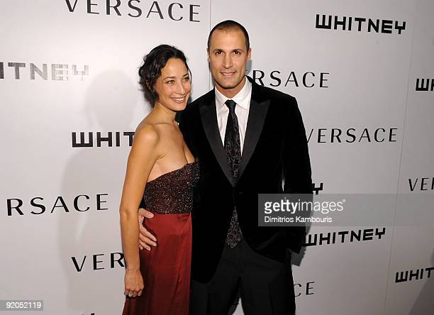 Photographer Nigel Barker and wife Cristen Barker attend the 2009 Whitney Museum Gala at The Whitney Museum of American Art on October 19 2009 in New...