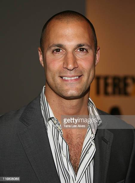 Photographer Nigel Barker at the Terexov fashion show during MercedesBenz Fashion Week Spring 2008 at The Salon Bryant Park on September 6 2007 in...