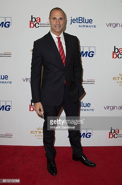Photographer Nigel Barker attends the BABC LA 56th Annual Christmas Luncheon at Fairmont Miramar Hotel on December 11 2015 in Santa Monica California