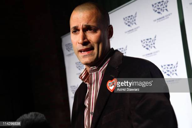 Photographer Nigel Barker attends The Humane Society of the United States & The Art Institute's Fifth Annual Cool vs. Cruel Awards Ceremomy at The...