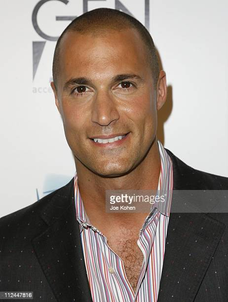Photographer Nigel Barker attends the My Life in Smiles photography exhibition at the Open House Gallery on June 12 2008 in New York City