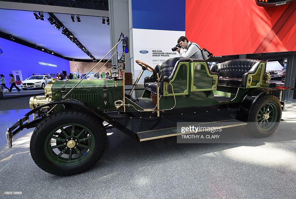 US-NEW YORK- AUTO SHOW : News Photo