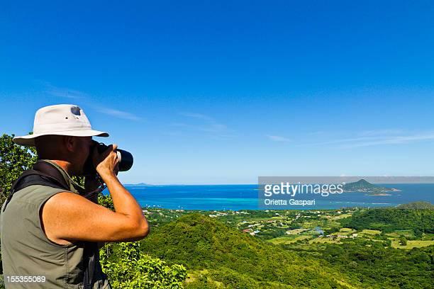 fotógrafo en carriacou island, granada w.i. - paisajes de isla de  granada fotografías e imágenes de stock