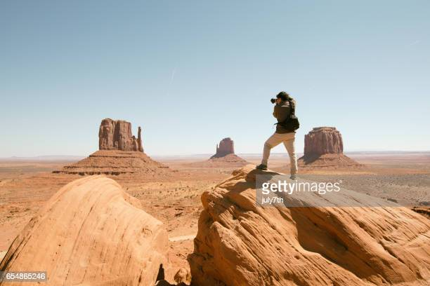 Photographer on the Monument Valley