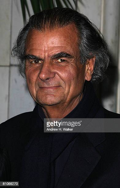 Photographer Patrick Demarchelier attends the Christian Dior Cruise 2009 Collection at Gustavino's in New York City