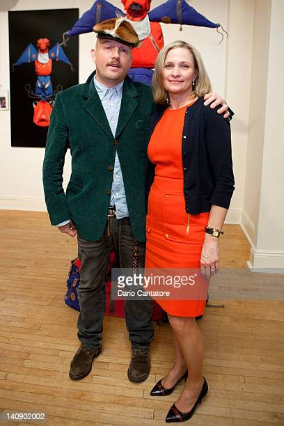 Photographer Paul Graves and Kipling President Julie Dimperio attend Kipling's 25th Anniversary celebration at Helen Mills Event Space on March 7...