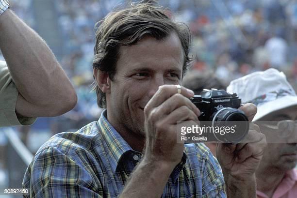Photographer Peter Beard attending RFK Tennis Tournament on August 25 1979 at Flushing Meadows New York
