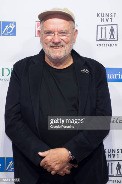 Photographer Peter Lindbergh attends the opening gala of 'A Different Vision On Fashion Photography' By Peter Lindbergh Exhibition at Reggia di...