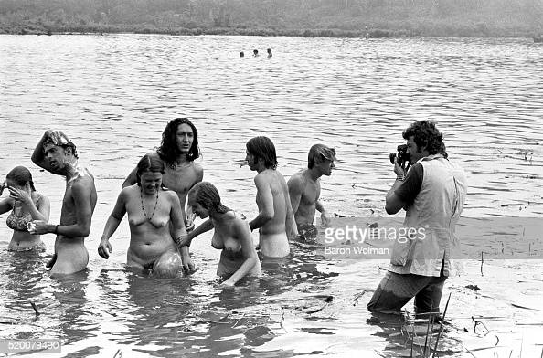A Photographer Photographs A Group Of People Swimming -3721