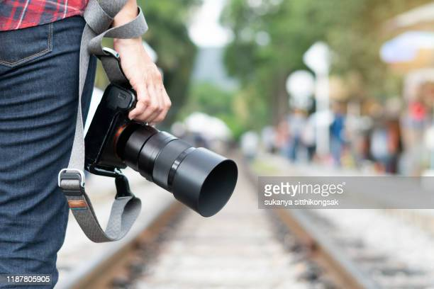 photographer. - photojournalist stock pictures, royalty-free photos & images