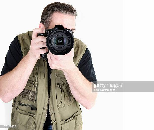 photographer - waistcoat stock pictures, royalty-free photos & images