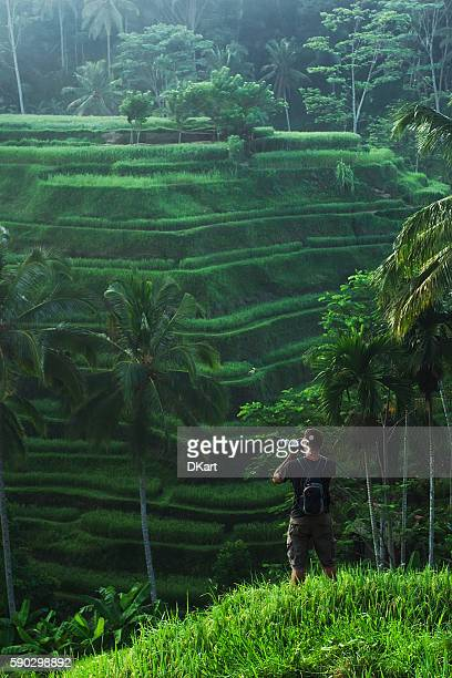 photographer - tegallalang stock photos and pictures
