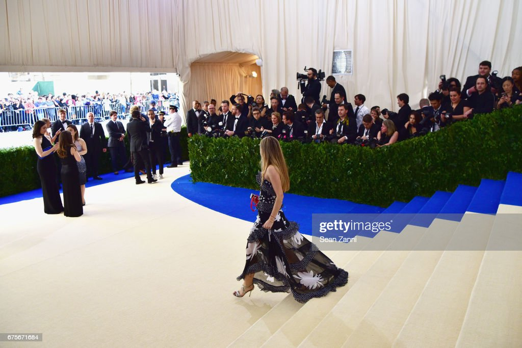Photographer pit at 'Rei Kawakubo/Comme des Garcons: Art Of The In-Between' Costume Institute Gala at The Metropolitan Museum on May 1, 2017 in New York City.