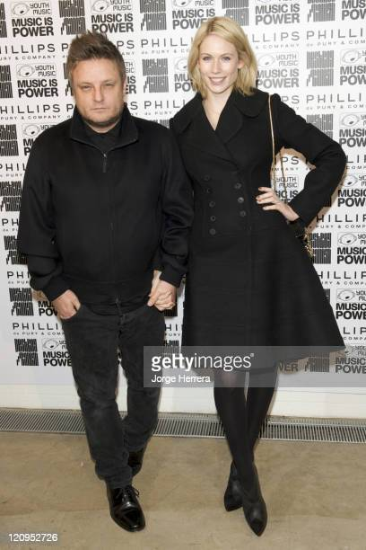 Photographer Rankin and Wife Tuuli Shipster attend the Destroy/Rankin Private View at Phillips de Pury on November 9 2009 in London England