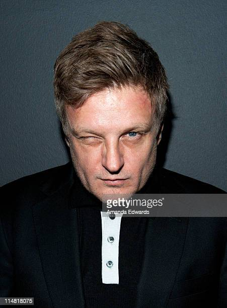 Photographer Rankin attends his Open Rankin photography exhibition and US gallery launch party at Rankin Gallery on May 26 2011 in Los Angeles...