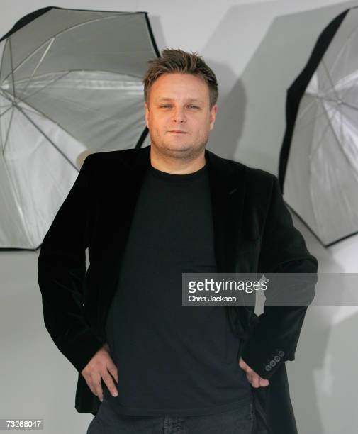 Photographer Rankin is seen at the private viewing of ''Ford Motor Company Britain'' hosted Rankin on February 8 2006 in London England