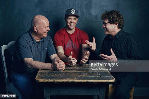 Photographer Robert Oelman director Jake Oelman and writer/producer Jerry Aronson of 'Learning To See' are photographed in the Getty Images SXSW...