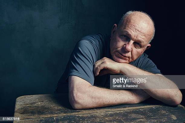 Photographer Robert Oelman of 'Learning To See' is photographed in the Getty Images SXSW Portrait Studio powered by Samsung at the Samsung Studio on...