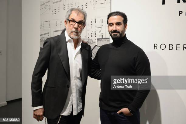Photographer Robert Whitman and CEO of Vero Ayman Hariri attend Robert Whitman Presents Prince 'Pre Fame' Private Viewing Event Exclusively On Vero...