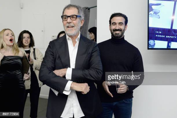 Photographer Robert Whitman and CEO of Vero Ayman Hariri speak at Robert Whitman Presents Prince 'Pre Fame' Private Viewing Event Exclusively On Vero...