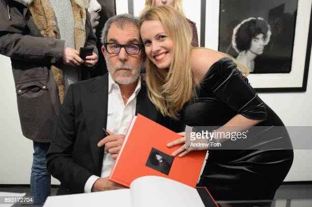 Photographer Robert Whitman and Manager The Marse Group Eliona Cela attends Robert Whitman Presents Prince 'Pre Fame' Private Viewing Event...