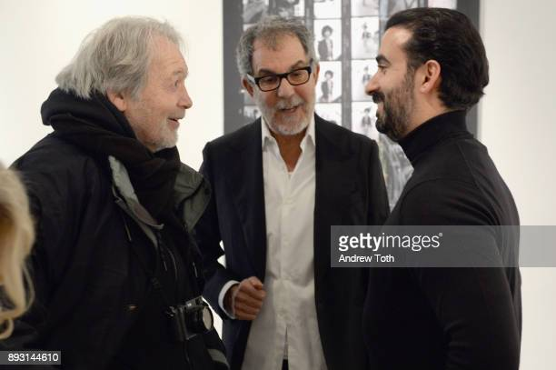 Photographer Robert Whitman CEO of Vero Ayman Hariri and a guest attend Robert Whitman Presents Prince 'Pre Fame' Private Viewing Event Exclusively...