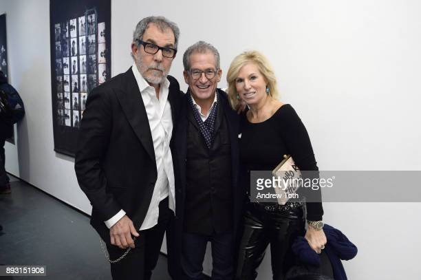 Photographer Robert Whitman David Post and Jody Post attend Robert Whitman Presents Prince 'Pre Fame' Private Viewing Event Exclusively On Vero on...