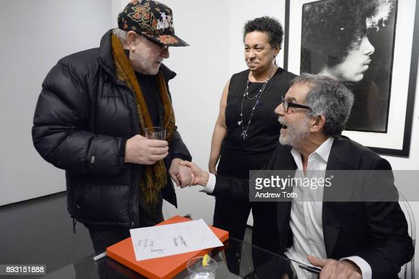 Photographer Robert Whitman signs books a Robert Whitman Presents Prince 'Pre Fame' Private Viewing Event Exclusively On Vero on December 14 2017 in...
