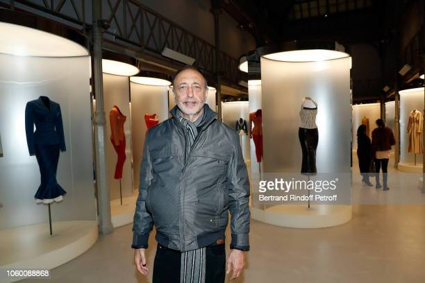 Photographer Roger Ballen attends Alaia Foundation Library Opening at Gallery Azzedine Alaia on November 10 2018 in Paris France