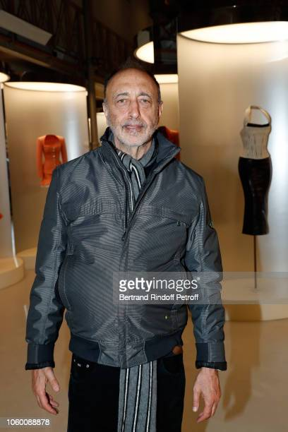 Photographer Roger Ballen attends Alaia Foundation Library Opening at Galery Azzedine Alaia on November 10 2018 in Paris France