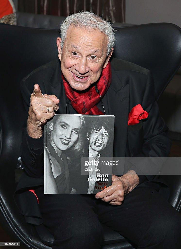 Row NYC Debuts With Ron Galella, Paparazzo Extraordinaire! : News Photo