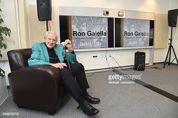 Photographer Ron Galella attends his presentation of The Stories Behind the Pictures at the Getty Images office on June 29 2016 in New York City
