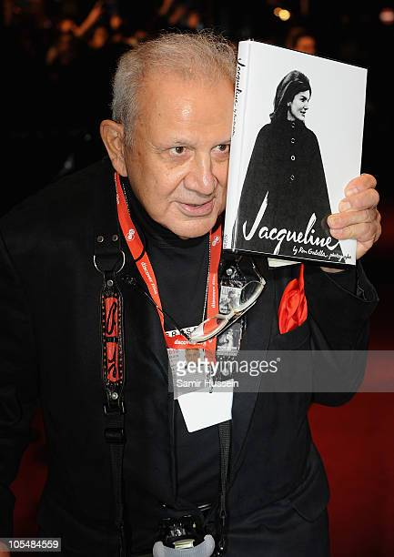 Photographer Ron Galella attends the 'Smash His Camera' premiere during the 54th BFI London Film Festival at the Vue West End on October 15 2010 in...