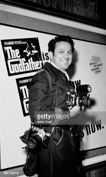 Photographer Ron Galella on March 14 1972 in New York New York