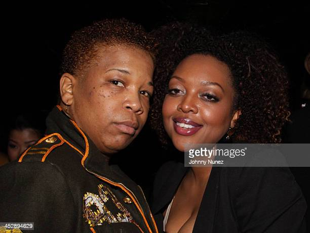 Photographer Rowena Husbands and makeup artist Nicole Williams attend a private after party for Our Family Wedding at Katra Lounge on March 9 2010 in...