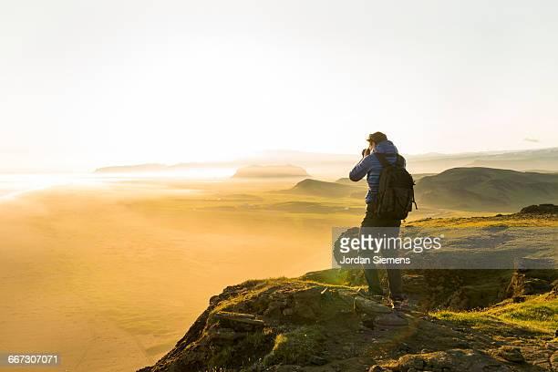 A photographer snapping photos.