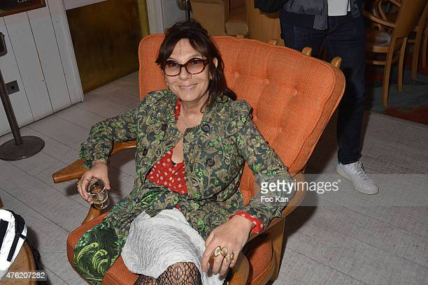 Photographer Sophie Calle attends day two of the Fooding 15th Anniversary Party at Marche Paul Bert Serpette Porte de Clignancourt on June 6 2015 in...