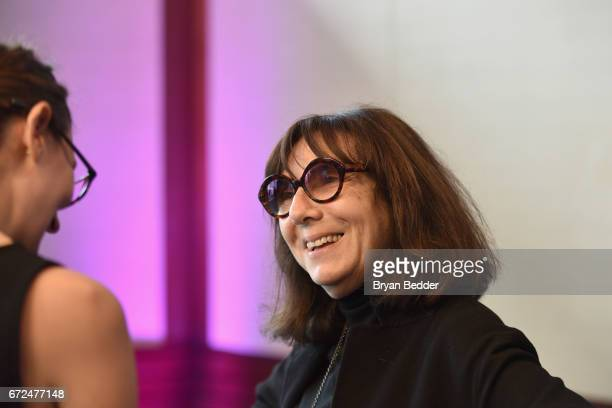 Photographer Sophie Calle attends The International Center of Photography's 33rd Annual Infinity Awards at Pier 60 on April 24 2017 in New York City