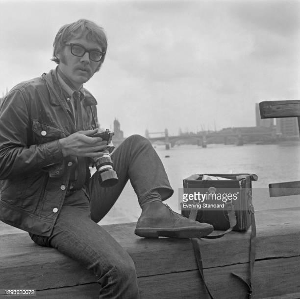 Photographer Stefan Tyszko, London, UK, 12th September 1967.