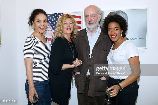 Photographer Stephanie Murat her daughter Lola Prince Director Bertrand Blier and his wife actress Farida Rahouadj attend the 55 Politiques...