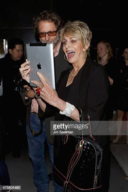 """Photographer Stephen Lovekin and actress Joanna Cassidy attend the Bravo Presents a special screening of """"Odd Mom Out"""" after party at Casa Lever on..."""