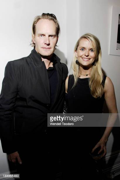Photographer Stephen Ward and Sarah Sutcliffe attends Harper's Bazaar Canon Fashion Photography Awards at the Challis Studios on May 13 2008 in...