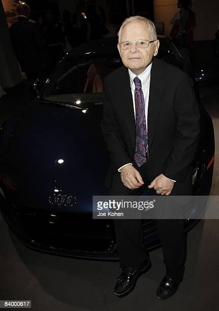 Photographer Steve Schapiro attends The Godfather Family Album book launch at the Audi Forum on December 9 2008 in New York City