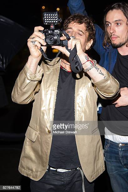 Photographer Steven Klein attends Manus x Machina Fashion in an Age of Technology Costume Institute Gala Balmain after party at Gilded Lily on May 2...