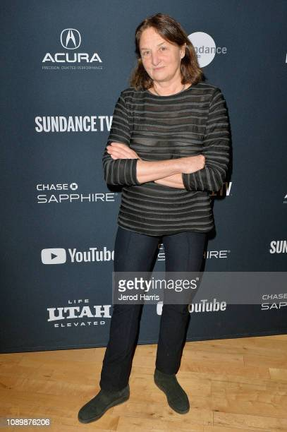 Photographer Susan Meiselas attends the Can Art Save Democracy Panel during the 2019 Sundance Film Festival at Filmmaker Lodge on January 26 2019 in...